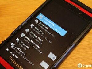Forward, block, and color code your emails and texts with Message X for BlackBerry 10