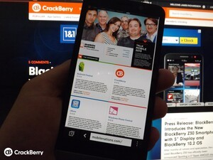 How to get the most out of the web browser on the BlackBerry Z30