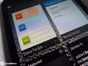 How to use Docs To Go on the BlackBerry Z30