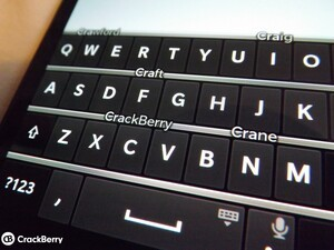 How to use the keyboard on the BlackBerry Z30