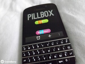 Manage your medication for free with PillBox for BlackBerry 10