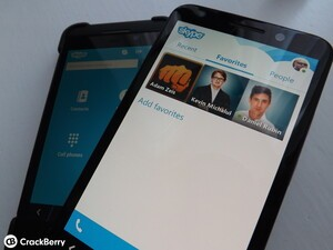 We take a look at the new Skype UI for BlackBerry 10 - and it's real sweet!