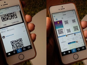 BBM Pin sharing for Android and iPhone owners starting to go viral on... Instagram?!!