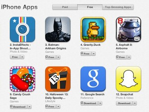 Good Start: BBM already topping the Top Free iPhone Apps chart!