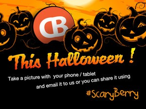 Partying for Halloween tonight? Make sure to snap some #ScaryBerry photos for the contest!