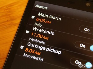 How to set multiple alarms on BlackBerry OS 10.2
