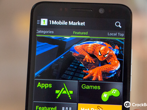 How to download and install Android apps using the 1mobile Market on BlackBerry 10