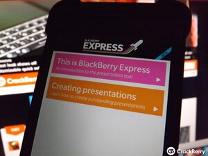 BlackBerry Express updated with stability and performance improvements
