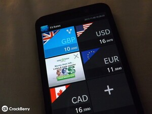 Need a beautiful currency converter on your device? Check out FX Rates for BlackBerry 10