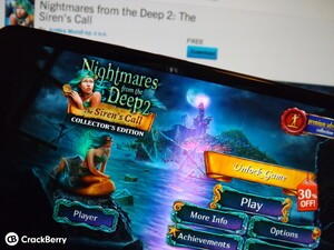Nightmares from the Deep 2: The Siren's Call arrives for BlackBerry 10
