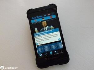 World news at your fingertips with Trendy News Magazine for BlackBerry 10