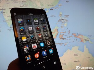 The BlackBerry Z30 to launch on November 23rd in Indonesia