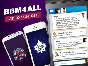 BBM4ALL Video Contest - Make a kick ass BBM commercial and you could win a trip to Toronto and visit to BlackBerry HQ!