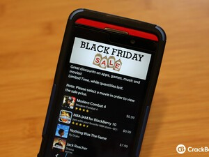 BlackBerry Black Friday Sale - Grab select apps, games, and movies for $0.99