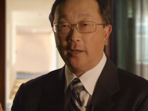 A first look at BlackBerry's soon to be (interim) CEO, John Chen
