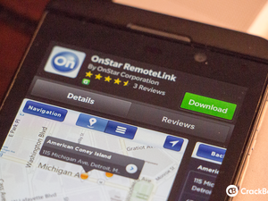 OnStar RemoteLink now available for the BlackBerry Z10 and Z30