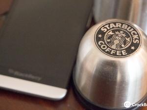 MAKE brings Starbucks to BlackBerry 10