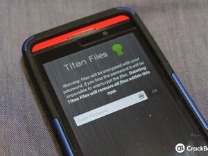 Protect your private files with Titan Files for BlackBerry 10