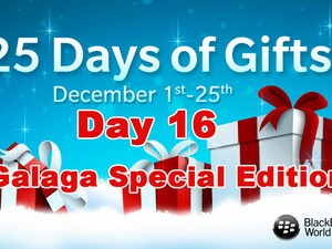 Galaga Special Edition - Day 16 of BlackBerry's 25 Days of Gifts