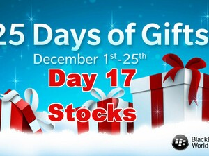 Stocks - Day 17 of BlackBerry's 25 Days of Gifts