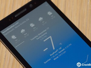 BlackBerry Weather for BlackBerry 10 updated to v10.2.2.0