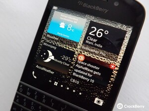 CrackBerry Asks: Which weather app do you use on BlackBerry 10?