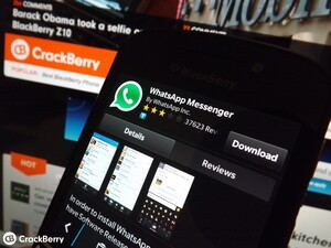Whatsapp for BlackBerry 10 gets updated with enhancements