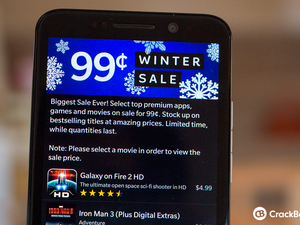 BlackBerry's $.99 Cent Winter Sale brings discounted titles all December