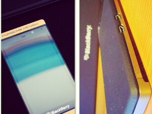 This gold plated BlackBerry P'9982 will set you back about $6k