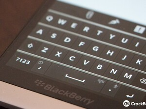 How fast can you type on the BlackBerry 10 virtual keyboard?