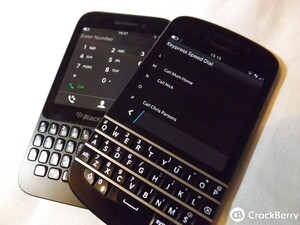 The return of true speed dialing for hardware keyboard users with BlackBerry 10.2.1