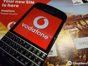 Vodafone UK reduce the price of the BlackBerry Q10 on contract