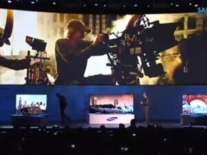 Biggest CES2014 Frak Up so far: Director Michael Bay walks off stage during Samsung event