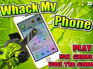 Friday Fun: Shoot, Blow Torch and Chainsaw the competition with Whack My Phone!