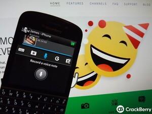 Using BBM 10.3 for BlackBerry 10