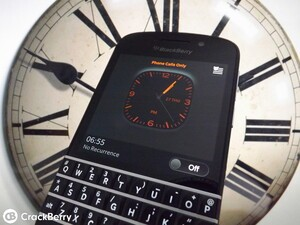 How to enable Bedside Mode with BlackBerry OS 10.2.1