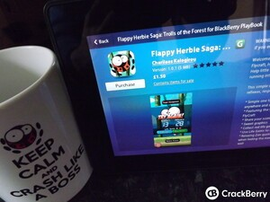 Flappy Herbie makes his way to the BlackBerry PlayBook