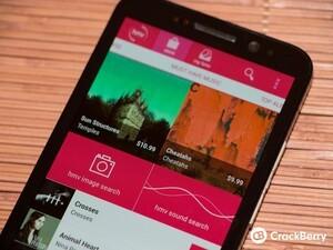 HMV bringing their digital music download app to BlackBerry 10