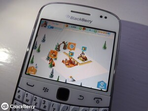 If you're still rocking a BlackBerry 7 device why not build yourself an Ice Age Village?