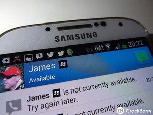 Using BBM Voice on Android