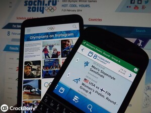 How to follow the Sochi 2014 Winter Olympics from your BlackBerry