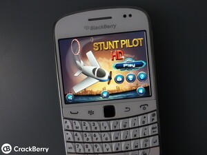 Stunt Pilot arrives for BlackBerry 7 devices - with a free edition for starters