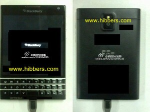 Leaked photos show off QWERTY BlackBerry 10 prototype