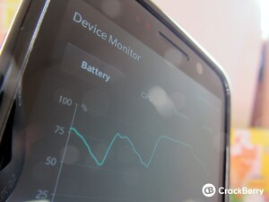 Using Device Monitor with BlackBerry OS 10.2.1