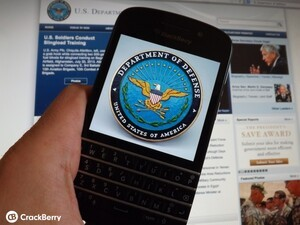 "BlackBerry 10 the first mobile OS to receive ""full operation capability"" authorization for US Department of Defense networks"