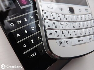 It looks like the CrackBerry nation could well be tempted back to a hardware keyboard with the BlackBerry Q20