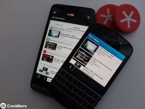 YouTube on BlackBerry 10 - Users much prefer the browser than a third party app