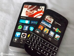 BlackBerry 10 users are productive first and gamers second