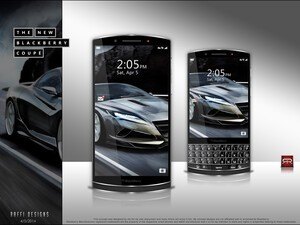 From the forums: The BlackBerry Coupe concept