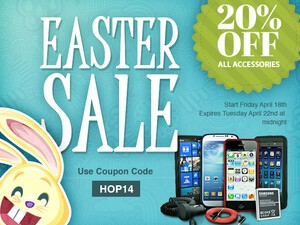 ShopCrackBerry Easter Sale: Save 20% on all BlackBerry cases and accessories!